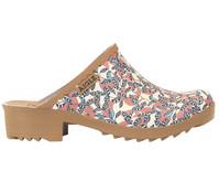 Aigle Clog Victorine 'Blätter'