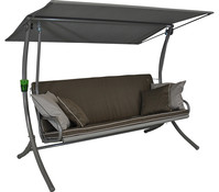 Angerer Hollywood-Schaukel Royal Style taupe, 3-Sitzer