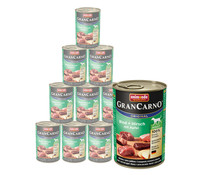 animonda Gran Carno Adult, Nassfutter, 12 x 400g