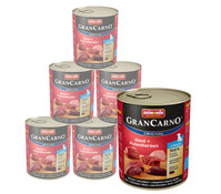 animonda Gran Carno Junior, Nassfutter, 6 x 400g/800g