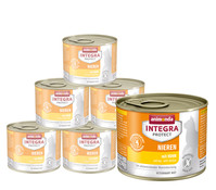 animonda Integra Protect Nieren, Nassfutter, 6 x 200g