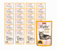 animonda Rafiné Soupe für Kitten, Nassfutter, 24x100g