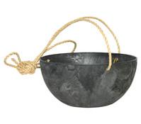 Arstone Kunststoff-Hängeampel Fiona, rund, Ø 25 cm