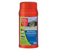 Bayer Wühlmaus-Portionsköder, 250g