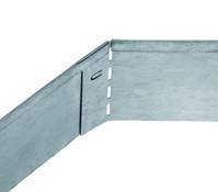 bellissa Metall-Rasenkante, verzinkt, 118 x 12,5 cm