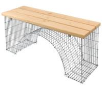 bellissa Sitzbank Bogengabione, 125 x 45 x 54 cm