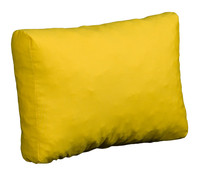 beo Loungerückenkissen gelb, 60x40 cm