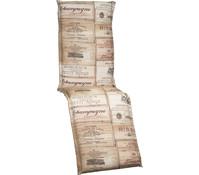 beo Relaxpolster Ascot Design Weinkiste, 170x46x7 cm