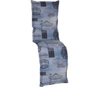 beo Relaxpolster Nizza Jeans, 174x52x7 cm