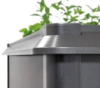 Biohort Metall Hochbeet Schneckenschutz 2x2