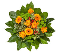 Blumenstrauß Danke