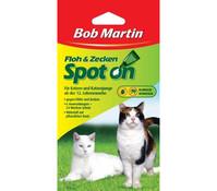 Bob Martin Floh & Zecken Spot on für Katzen, 24 Wochen Schutz