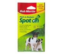 Bob Martin Floh & Zecken Spot on für kleine Hunde, 12 Wochen Schutz