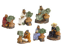 Bonsai-Figuren, 6er-Set