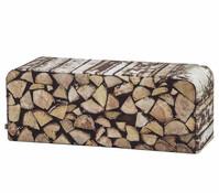 Boogaard Bank Holzstapel, 160 x 45 x 47 cm, Polyester