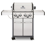 Broil King Gasgrill Baron S490, schwarz/graphit