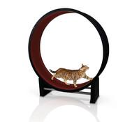 CanadianCat Company Katzenlaufrad Cat in Motion, kastanienbraun