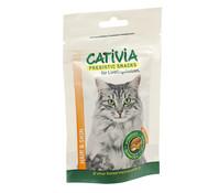 Cativia Prebiotic Knusperkissen Hair & Skin, Katzensnack, 50g