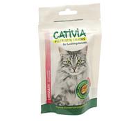 Cativia Prebiotic Knusperkissen Urinary, Katzensnack, 50g