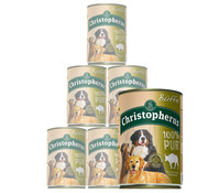Christopherus 100% Pur, Nassfutter, 6 x 400g