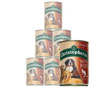 Christopherus 100% Pur, Nassfutter, 6x400g
