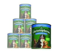 Christopherus Fleischmahlzeiten Adult, Nassfutter, 6 x 800g