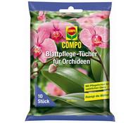 COMPO Blattpflege-Tücher für Orchideen, 10 Stk.