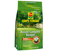 COMPO Floranid® Rasen-Langzeit-Dünger, 12 kg