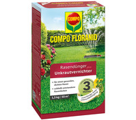 COMPO Floranid® Rasendünger plus Unkrautvernichter, 1,5 kg