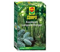 COMPO Koniferen Langzeit-Dünger, 2,5 kg