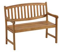 Dehner Akazienbank Dover, 2-Sitzer, 111 x 60 x 90 cm