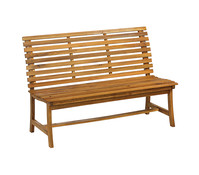 Dehner Akazienbank Paisley, 3-Sitzer, 138 x 63 x 95 cm