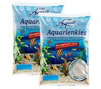 Dehner Aqua Aquarienkies, 0,8-1,6 mm, 2 x 10kg