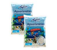 Dehner Aqua Aquarienkies, 1 - 2 mm, 2x5 kg