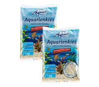 Dehner Aqua Aquarienkies, 3-5 mm, 2x5kg