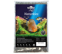 Dehner Aqua Naturkies Black Sambia, 3-5 mm