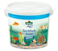 Dehner Aqua Teichfischfutter Sticks, Fischfutter, 5 l