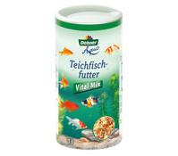 Dehner Aqua Teichfischfutter Vitalmix, Fischfutter, 1 l