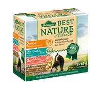 Dehner Best Nature Adult, Nassfutter, Multipack, 8x85 g