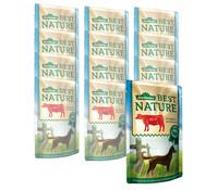 Dehner Best Nature für Hunde, Adult, Nassfutter, 12x150g