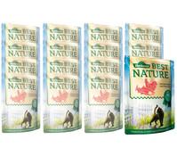 Dehner Best Nature für Katzen, Adult, Nassfutter, 16 x 85g