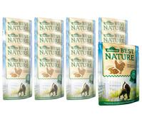Dehner Best Nature für Katzen Adult, Nassfutter, 16x85g