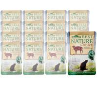 Dehner Best Nature für Katzen, Senior, Nassfutter, 16x85g