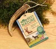 Dehner Best Nature Kaustange vom Rothirsch, ganz, Hundesnack