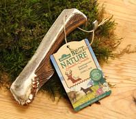 Dehner Best Nature Kaustange vom Rothirsch, halb, Hundesnack