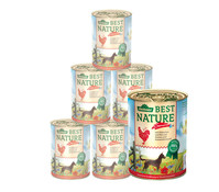 Dehner Best Nature Sommermenü, Nassfutter, 6x400g/800g