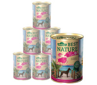 Dehner Best Nature Tropen Büffel & Shrimps, 6 x 400g/800g
