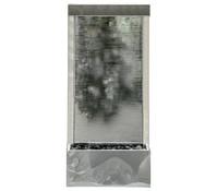 Dehner Edelstahl-Gartenbrunnen Wasserfall, 44,5 x 20 x 101,5 cm