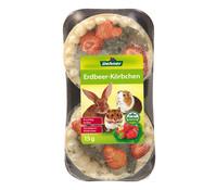 Dehner Erdbeer-Körbchen, Nagersnack, 15 g