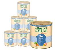 Dehner Fine Nature Senior, Ente, Nassfutter, 6 x 200g/400g/800g